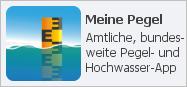 Externer Link: App Meine Pegel